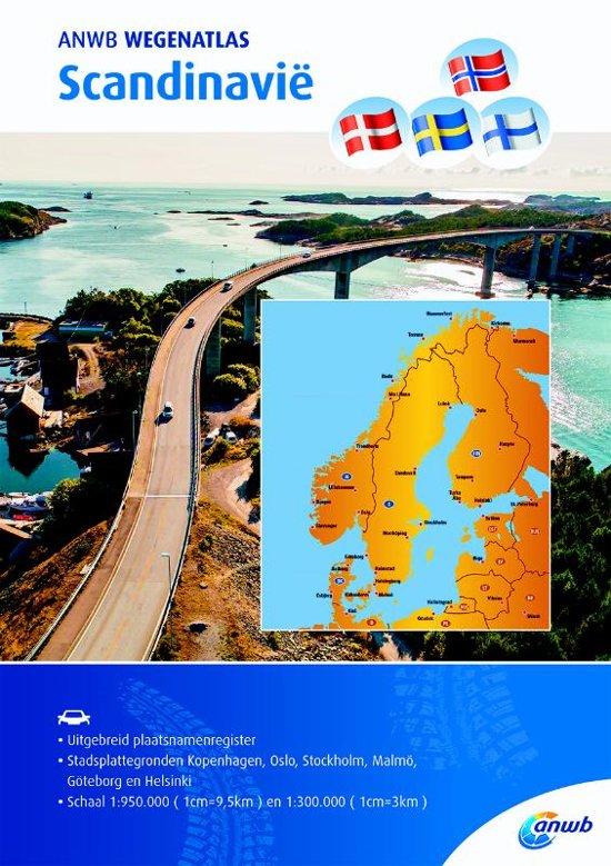 ANWB Wegenatlas Scandinavië 9789018043117  ANWB ANWB Wegenatlassen  Wegenatlassen Scandinavië & de Baltische Staten