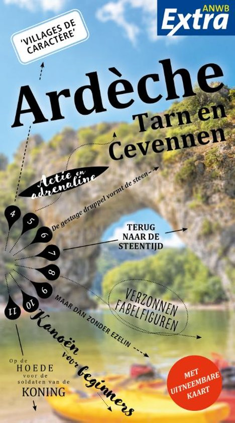 ANWB Extra reisgids Ardèche 9789018043148  ANWB ANWB Extra reisgidsjes  Reisgidsen Ardèche, Drôme