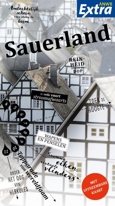 ANWB Extra reisgids Sauerland 9789018043254  ANWB ANWB Extra reisgidsjes  Reisgidsen Sauerland