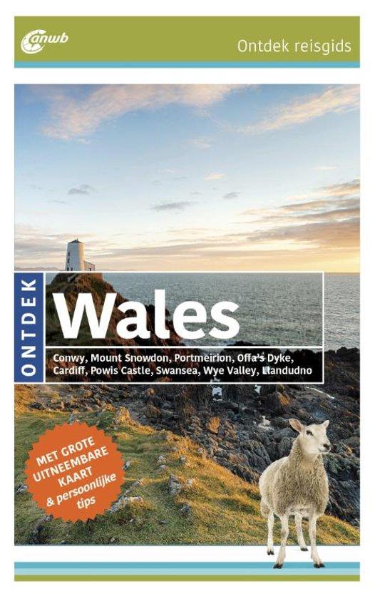 ANWB reisgids Ontdek Wales 9789018043308  ANWB ANWB Ontdek gidsen  Reisgidsen Wales
