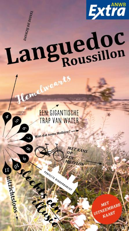 ANWB Extra reisgids Languedoc-Roussillon 9789018043407  ANWB ANWB Extra reisgidsjes  Reisgidsen Cevennen, Languedoc