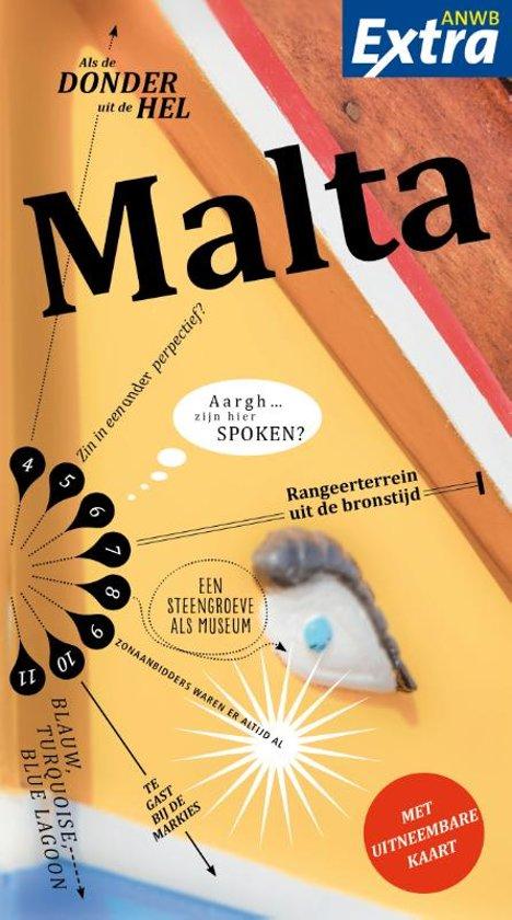 ANWB Extra reisgids Malta 9789018043414  ANWB ANWB Extra reisgidsjes  Reisgidsen Malta