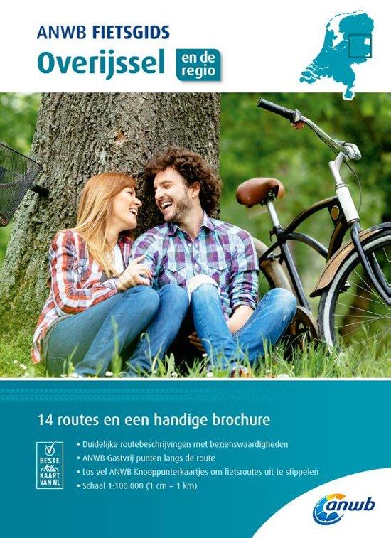 ANWB Fietsgids 04 - Overijssel 9789018043520  ANWB ANWB fietsgidsen  Fietsgidsen Kop van Overijssel, Vecht & Salland, Twente