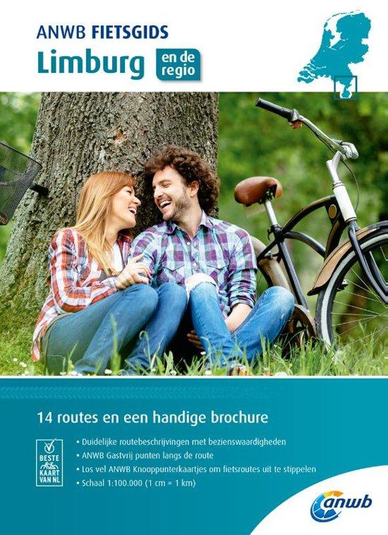 ANWB Fietsgids 11 - Limburg 9789018043599  ANWB ANWB fietsgidsen  Fietsgidsen Maastricht en Zuid-Limburg, Noord- en Midden-Limburg