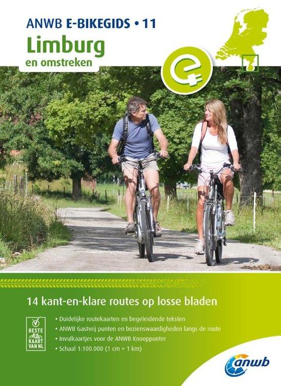 E-bikeroutes in en om Limburg 9789018043704  ANWB   Fietsgidsen Zuid Nederland