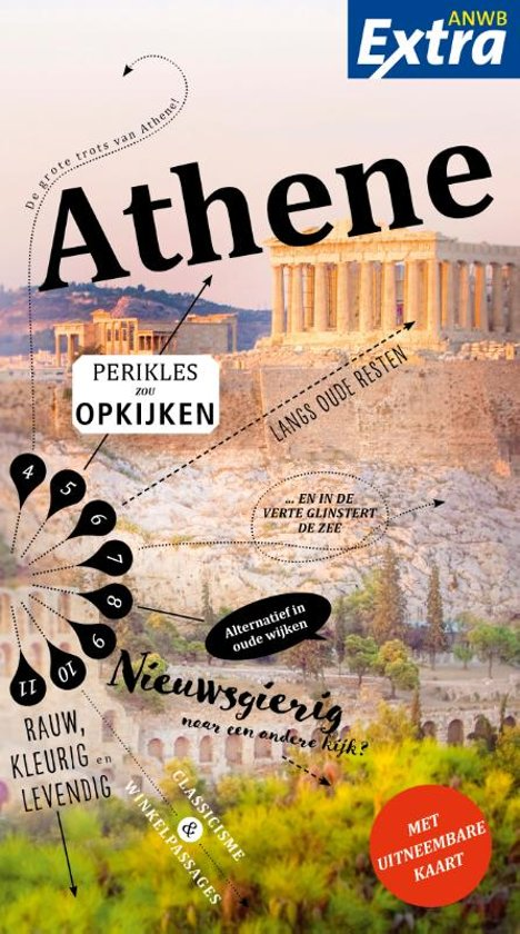 ANWB Extra reisgids Athene 9789018044084  ANWB ANWB Extra reisgidsjes  Reisgidsen Midden en Noord-Griekenland, Athene