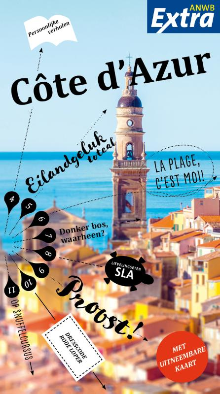 ANWB Extra reisgids Cote d'Azur 9789018044138  ANWB ANWB Extra reisgidsjes  Reisgidsen Côte d'Azur