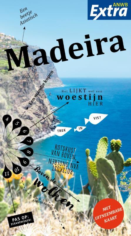 ANWB Extra reisgids Madeira 9789018044435  ANWB ANWB Extra reisgidsjes  Reisgidsen Madeira