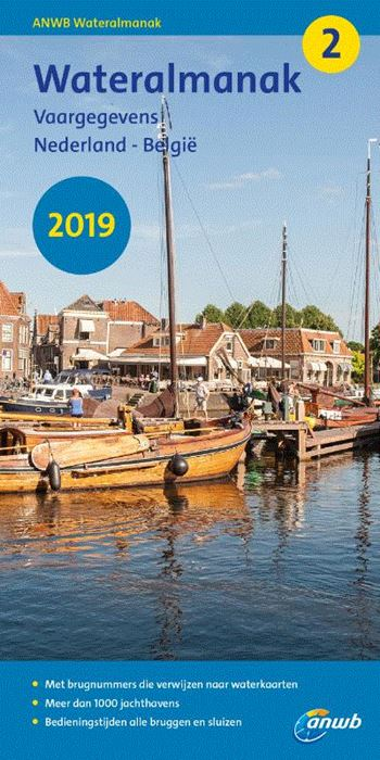 Wateralmanak deel 2 (jaarl.)   2019 9789018044671  ANWB   Watersportboeken Benelux