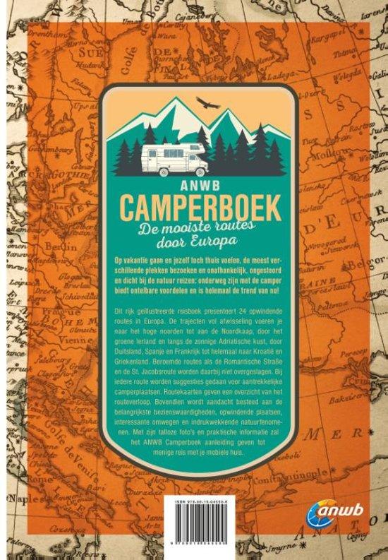 ANWB Camperboek Europa | reisgids 9789018045500  ANWB   Op reis met je camper, Reisgidsen Europa