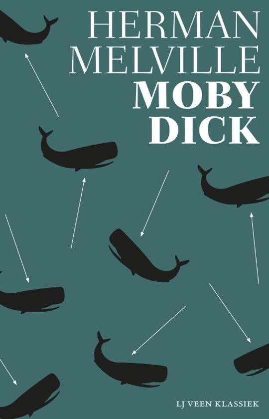 Moby Dick | Herman Melville 9789020415605 Herman Melville Atlas-Contact LJ Veen Klassiek  Reisverhalen Zeeën en oceanen