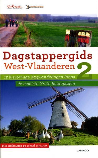 West-Vlaanderen 9789020972740  Lannoo Dagstappergidsen  Wandelgidsen Gent, Brugge & westelijk Vlaanderen