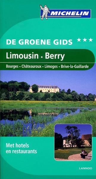 Limousin-Berry | Michelin reisgids 9789020994674  Michelin Michelin Groene gidsen  Reisgidsen Vendée, Charente