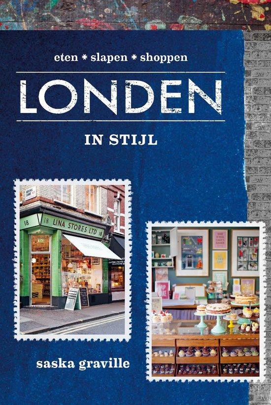 Londen in stijl 9789021563619 Saskia Graville Kosmos   Reisgidsen Londen