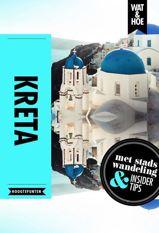 Kreta 9789021568492  Kosmos Wat en Hoe Select  Reisgidsen Kreta