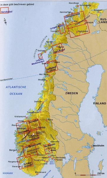 Bergtochten in Noorwegen   Jolanda Linschooten 9789025750725 Jolanda Linschooten Gottmer Dominicus Adventure  Wandelgidsen Noorwegen