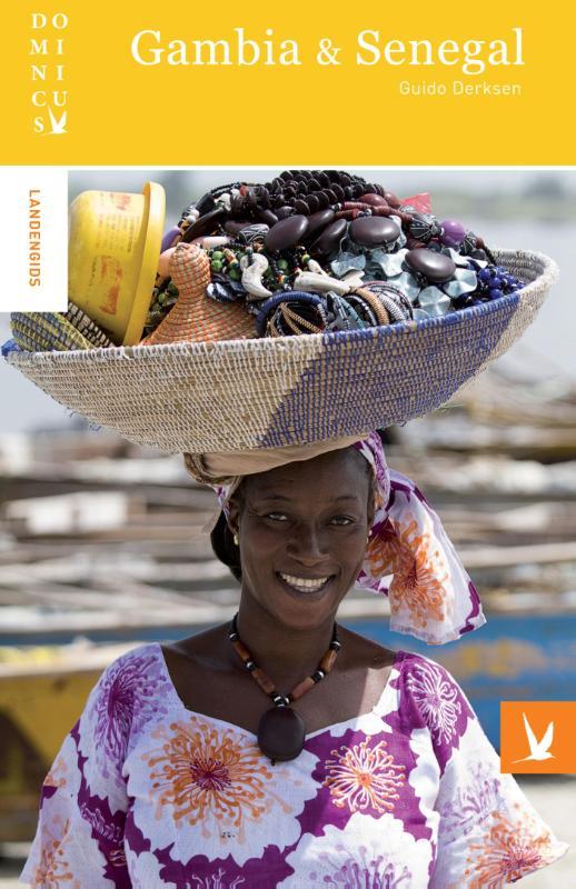Dominicus reisgids Gambia/ Senegal 9789025762940  Gottmer Dominicus reisgidsen  Reisgidsen West-Afrikaanse kustlanden (van Senegal tot en met Nigeria)