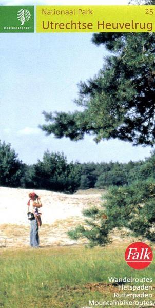 SBB-25  Utrechtse Heuvelrug | wandelkaart 1:25.000 9789028710726  Staatsbosbeheer SBB kaart 1:25.000  Wandelkaarten Utrecht