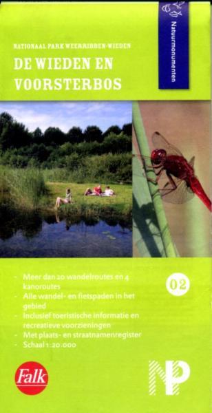 NM-02  De Wieden 9789028725300  Natuurmonumenten Wandelkaarten 1:20d.  Wandelkaarten Kop van Overijssel, Vecht & Salland