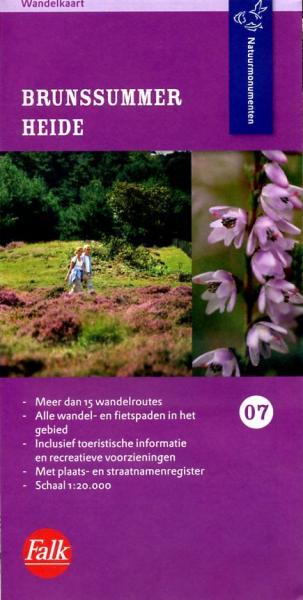 NM-07 Brunsummerheide 9789028725355  Natuurmonumenten Wandelkaarten 1:20d.  Wandelkaarten Maastricht en Zuid-Limburg