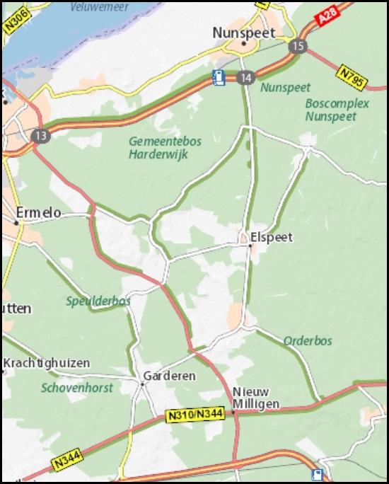SBB-19  Noord-Veluwe | wandelkaart 1:25.000 9789028730298  Staatsbosbeheer SBB kaart 1:25.000  Wandelkaarten Arnhem en de Veluwe
