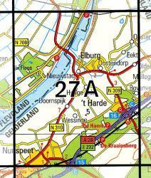 27A Elburg 1:25.000 9789035002708  Topografische Dienst / Kadaster Topografische Kaart  Wandelkaarten Arnhem en de Veluwe