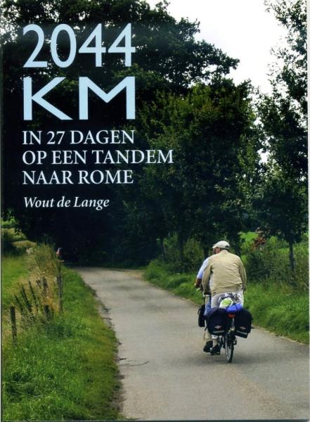 2044 Km 9789038921433 Wout de Lange Elmar   Fietsreisverhalen, Meerdaagse fietsvakanties Europa