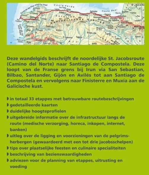 Camino del Norte - Rother | wandelgids Jacobsroute 9789038924052  Elmar RWG  Santiago de Compostela, Wandelgidsen Santiago de Compostela