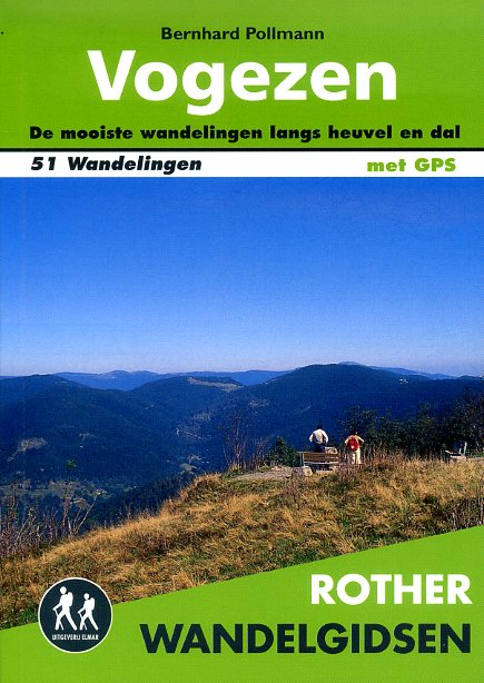 Vogezen - Rother wandelgids 9789038924519  Elmar RWG  Wandelgidsen Vogezen