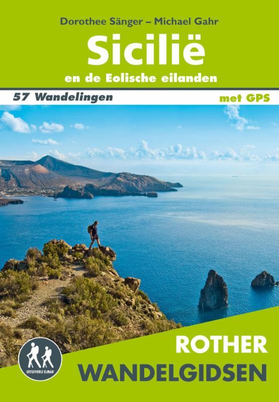 Sicilië Rother Wandelgids 9789038925028  Elmar RWG  Wandelgidsen Sicilië