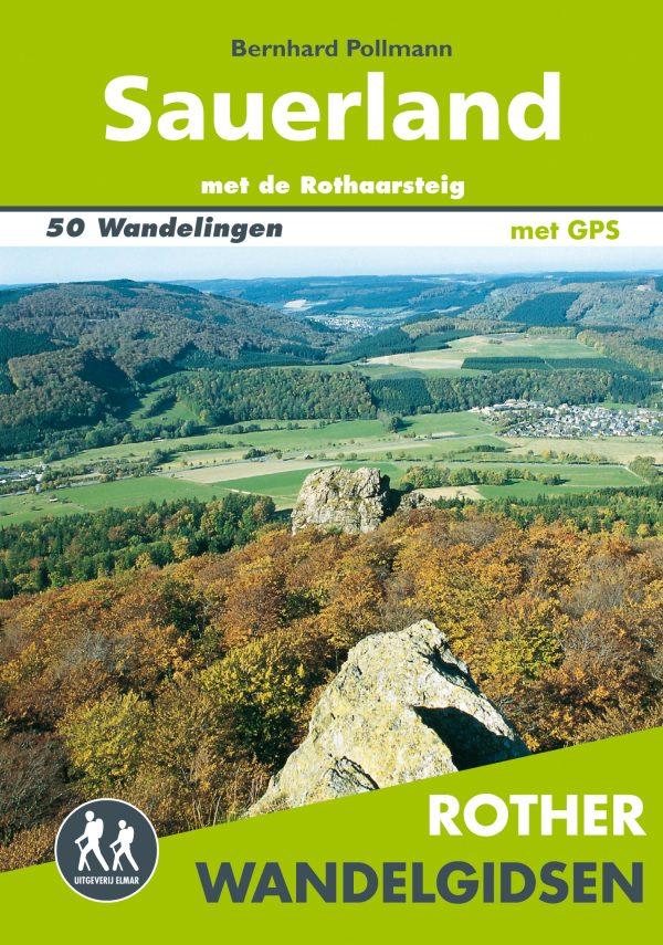 Sauerland Rother Wandelgids 9789038925608 Bernhard Pollmann Elmar RWG  Wandelgidsen Sauerland