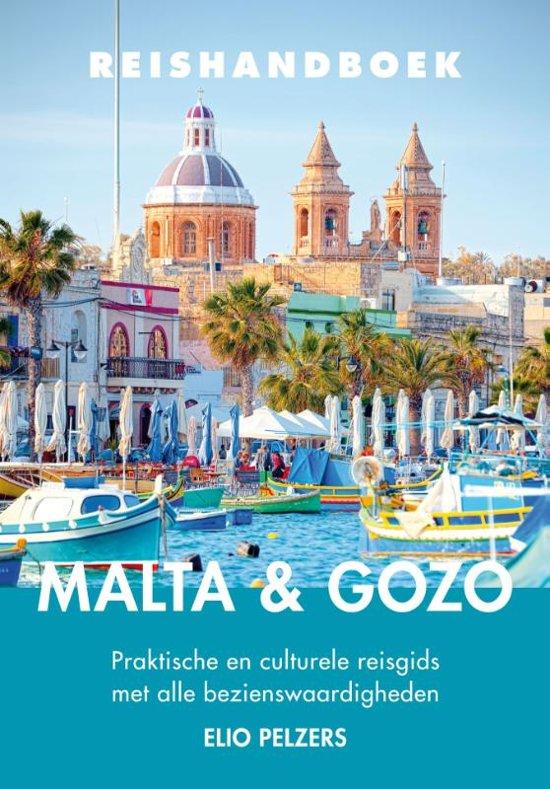 Elmar Reishandboek Malta & Gozo 9789038926667 Elio Pelzers Elmar Elmar Reishandboeken  Reisgidsen Malta