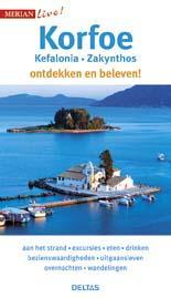 Korfoe (Corfu) 9789044742435  Deltas Merian Live reisgidsjes  Reisgidsen Ionische Eilanden (Korfoe, Lefkas, etc.)