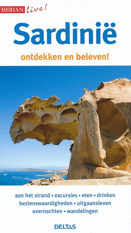 Sardinie 9789044742466  Deltas Merian Live reisgidsjes  Reisgidsen Sardinië