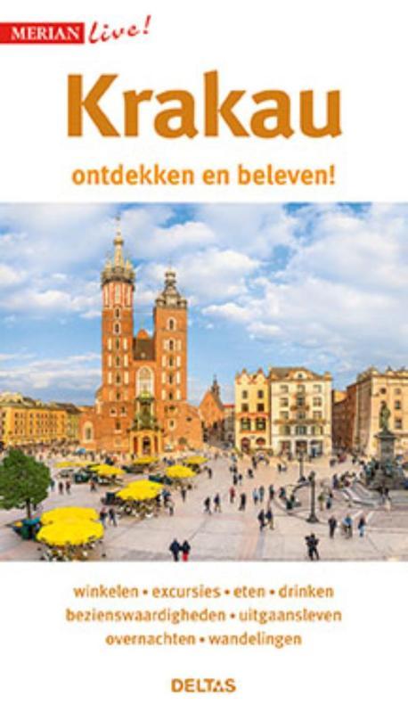 Krakau ontdekken en beleven 9789044748253  Deltas Merian Live reisgidsjes  Reisgidsen Polen