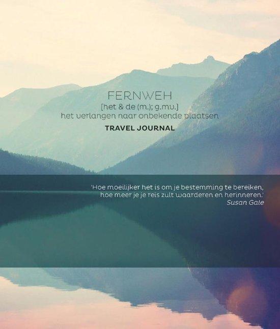 Fernweh Travel journal 9789045322568  BBNC Reisdagboeken  Reisverhalen Wereld als geheel