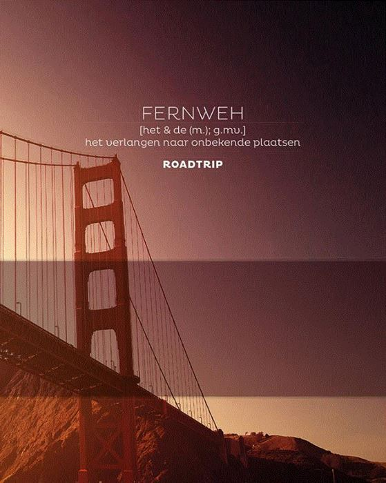 FERNWEH Roadtrip 9789045323978  BBNC   Reisgidsen Wereld als geheel