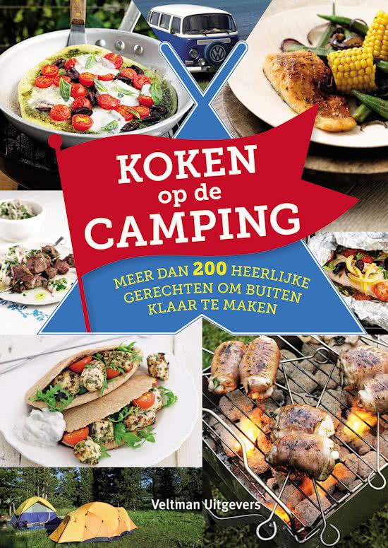 Koken op de camping 9789048312603 Pauline Bache Veltman   Campinggidsen Reisinformatie algemeen