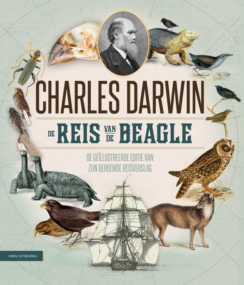 Charles Darwin - De Reis van de Beagle 9789050116213 vertaling: Frank van der Knoop KNNV   Historische reisgidsen, Natuurgidsen Reisinformatie algemeen