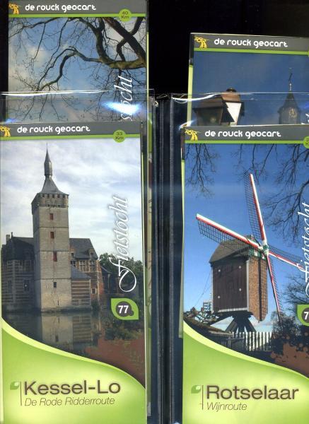 Hageland: Leuven - Tienen (710) 9789052087108  De Rouck - Geocart   Fietskaarten Vlaanderen