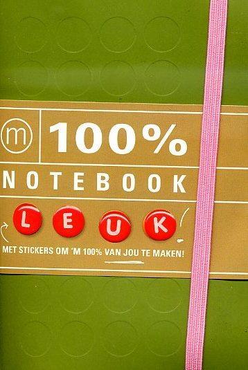 100% Notebook small green 9789057675744  Mo Media   Overige artikelen Reisinformatie algemeen