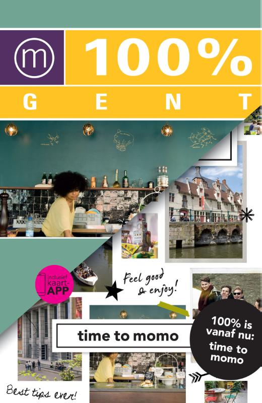 Time to Momo Gent (100%) 9789057677922  Mo Media Time to Momo  Reisgidsen Gent & Brugge