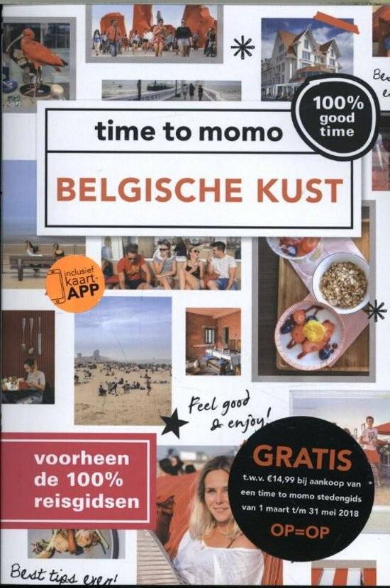 Belgische Kust  | 100% time to momo 9789057678455  Mo Media   Reisgidsen Belgische Kust