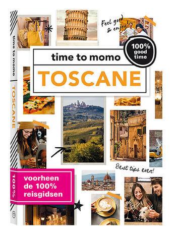 Toscane 100% good time! 9789057678479 Kim Lansink Mo Media Time to Momo  Reisgidsen Toscane, Florence