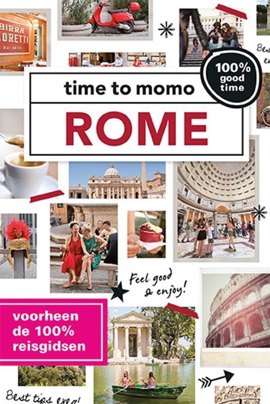 Time to Momo Rome (100%) 9789057678561  Mo Media Time to Momo  Reisgidsen Rome, Lazio