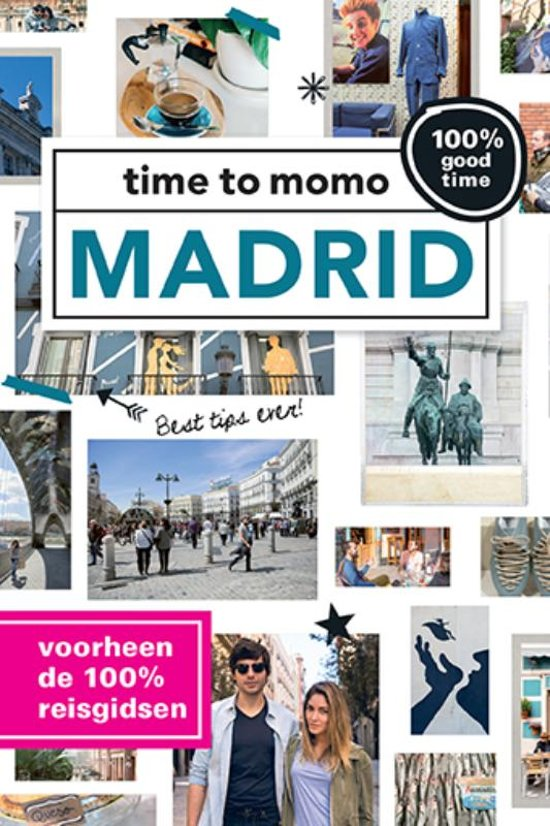 Time to Momo Madrid (100%) 9789057678776  Mo Media Time to Momo  Reisgidsen Madrid