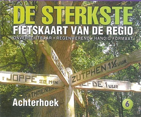 DSF-06 De Sterkste Fietskaart Achterhoek 1:50.000 9789058817082  Buijten & Schipperheijn DSF  Fietskaarten Gelderse IJssel en Achterhoek
