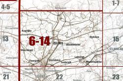 NGI-06-14 Zelzate (topografische kaart 1:50.000) 9789059340404  NGI Belgie 1:50.000  Wandelkaarten Vlaanderen & Brussel