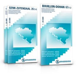 NGI-58/3-4  Agimont-Beauraing | topografische wandelkaart 1:20.000 9789059345522  NGI Belgie 1:20.000/25.000  Wandelkaarten Wallonië (Ardennen)