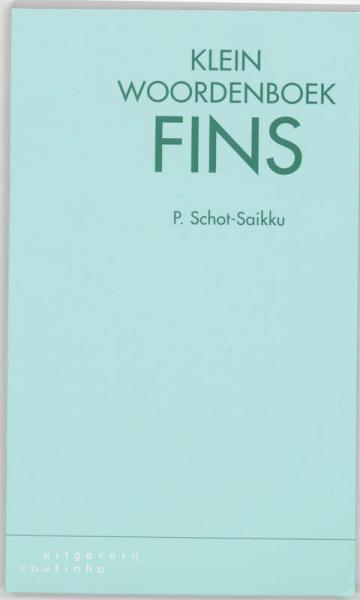 Klein woordenboek Fins 9789062831203  Coutinho   Taalgidsen en Woordenboeken Finland